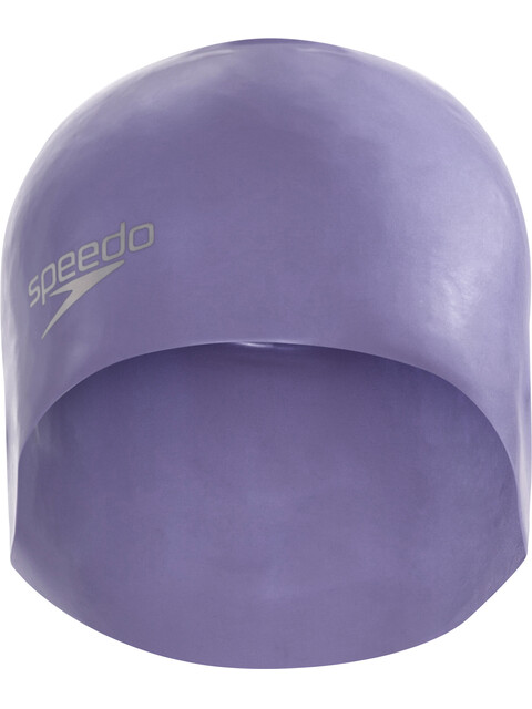 speedo Plain Moulded - Bonnet de bain - gris/bleu